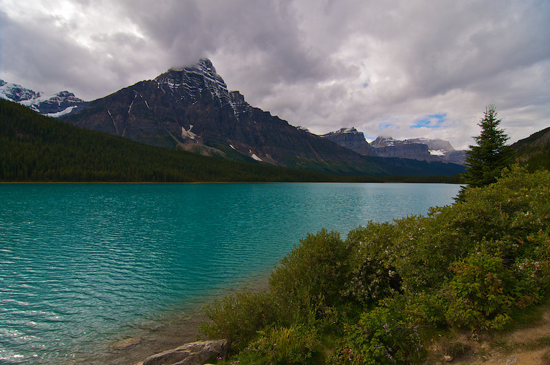 Waterfowl Lake.