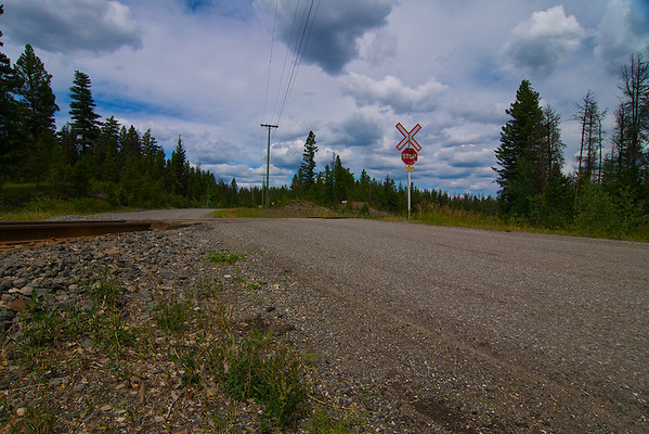 Quiet Crossing, on the road to Chasm Provincial Park, BC.
